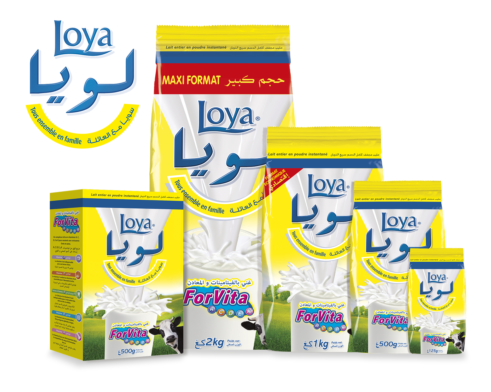 Algeria Loya Milk Pack Shot